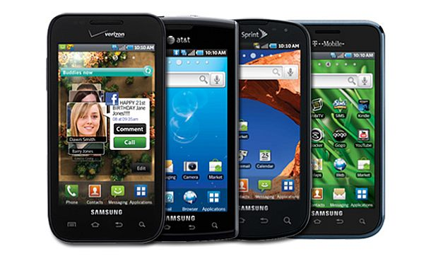 samsung galaxy series smartphones