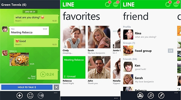 liNE appS