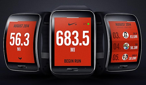 Nike + Running App for Samsung Gear S