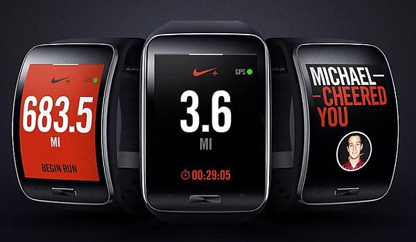 Samsung Gear Nike Running App