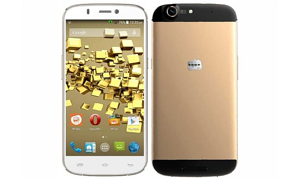 Micromax A300 Canvas Gold Review