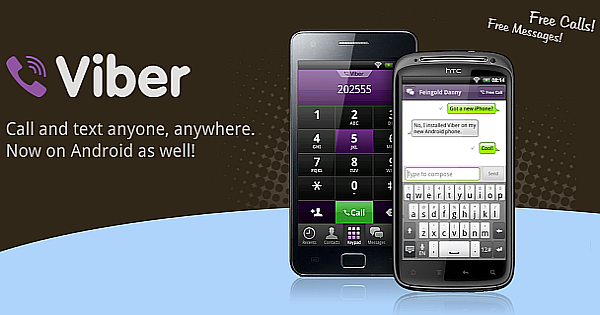 The New Version 5.0.2 of Viber is available at the Market Place