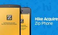 Hike zip phone