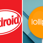 Lollipop vs KitKat in a Samsung Galaxy S5