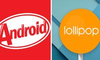 kitkat Lollipop