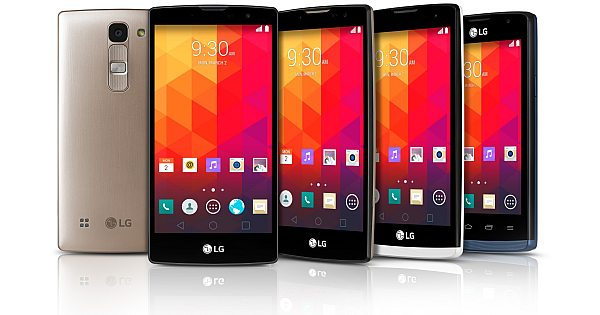 LG Reveals 4 New Midrange Phones at Mobile World Congress