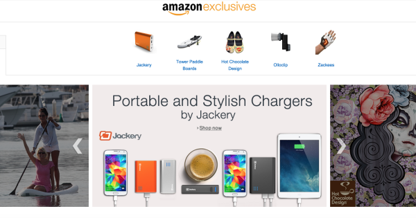 Amazon Exclusives Store Ready with Special Products