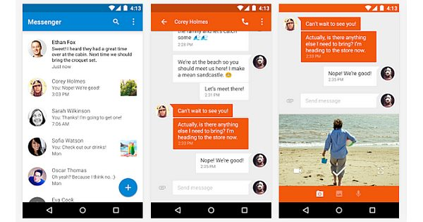 New Google Messenger App