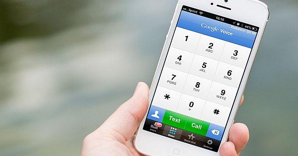 google voice iphone
