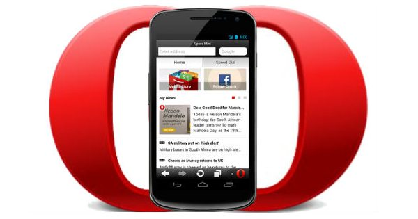 Opera Mini Android browser keeps getting better and better