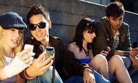 people messaging