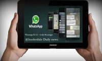 tablet whatsapp