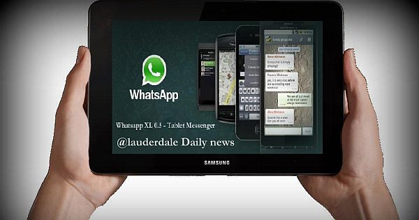 Whatsapp application free download for tablet