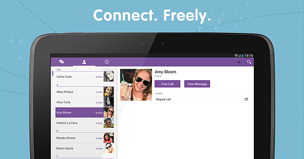 Download and Install Viber App on Android Tablet for Free! - Download ...