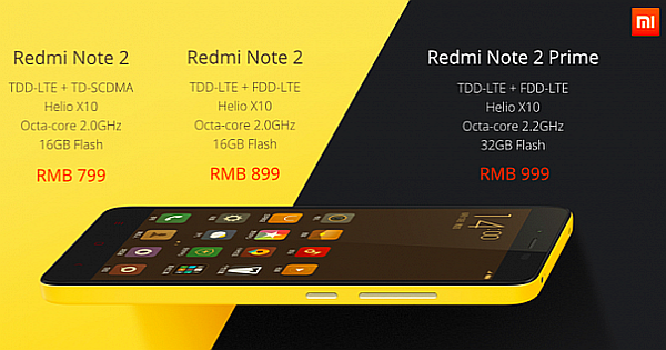 Install your Messaging App on the new Xiaomi Redmi Note 2