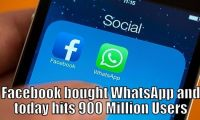 Facebook WhatsApp  Million Users