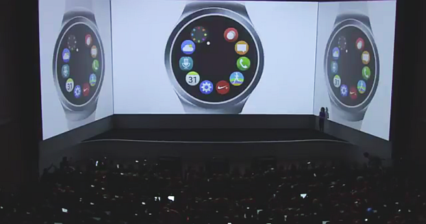 Samsung Shows Off At IFA 2015 with Gear S2