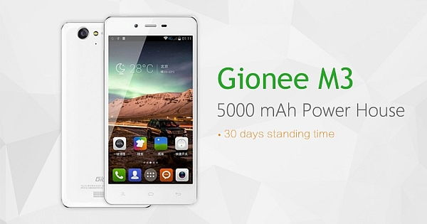 The Extraordinary GIONEE Latest Smartphone Models 2015
