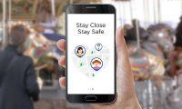 Line Here messenger app