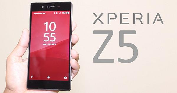 How to Fix Sony Xperia Z5 Problems