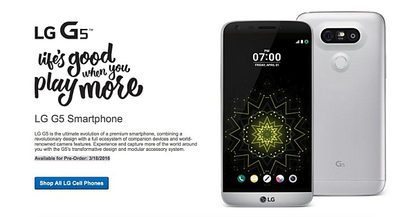 LG G5 coming April 1 and T-Mobile lowers LG G4 price