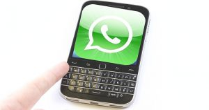 blackberry whatsapp