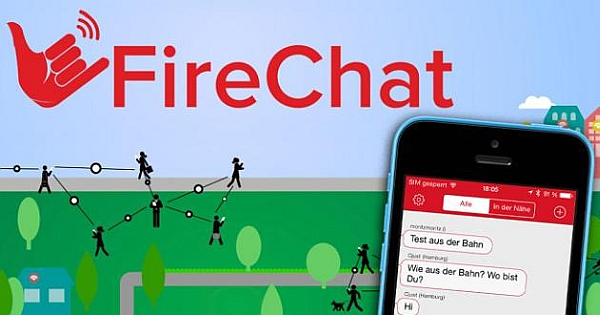 Offline Messaging on Mobile with Firechat App