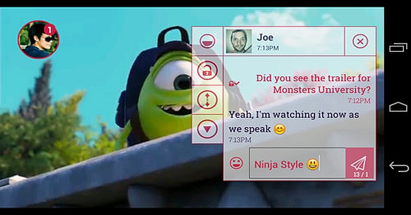 How to Use Ninja SMS and Chat Heads