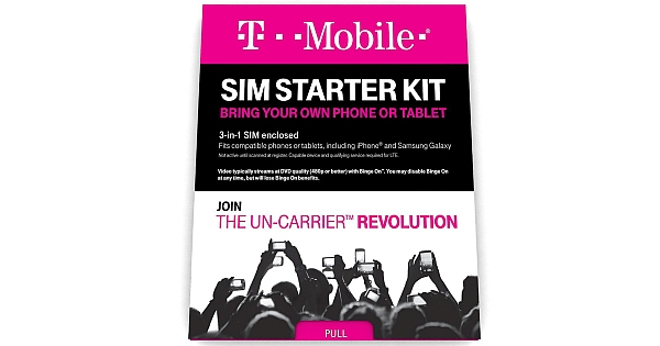 T-Mobile SIM Starter Kit Price