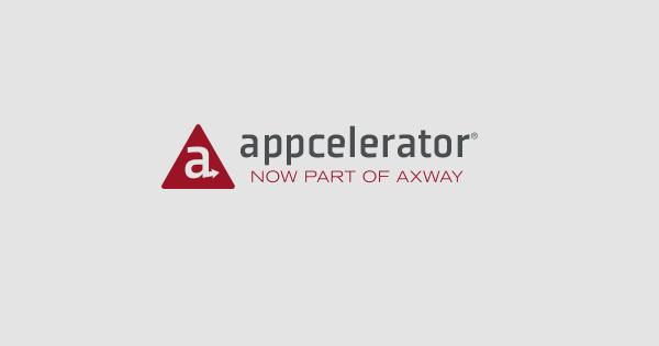 Axway Acquires Appcelerator App