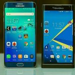 Samsung Galaxy S6 Edge vs BlackBerry Priv