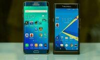 BlackBerry Priv vs Samsung Galaxy S Edge