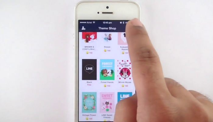 How to install LINE Messenger on iPhone Video Review