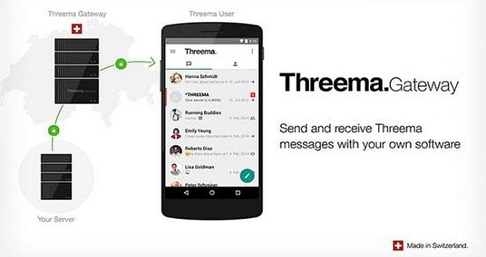 Threema Messenger App launched Threema Gateway