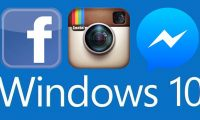 Windows  Facebook Messenger Instagram