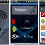Launch any App of Your Choice with Shake Launcher App
