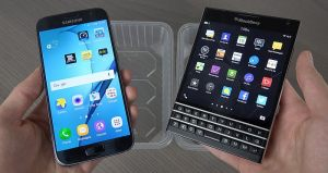 BlackBerry Samsung Galaxy S