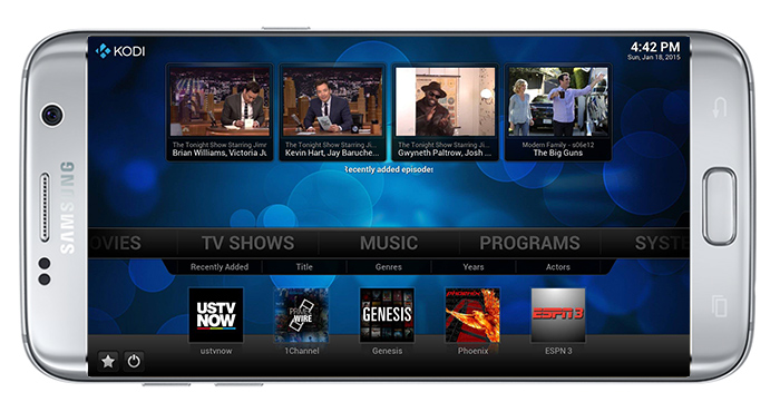 Download Kodi and Watch Free Movies and TV Series Online