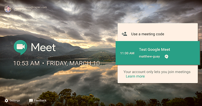 Google splits Hangouts into Chat and Meet