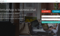Venture App business chat