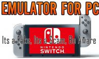 fake Nintendo Switch emulators