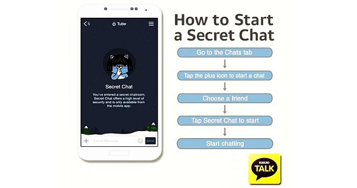kakaotalk secret chat encryptation