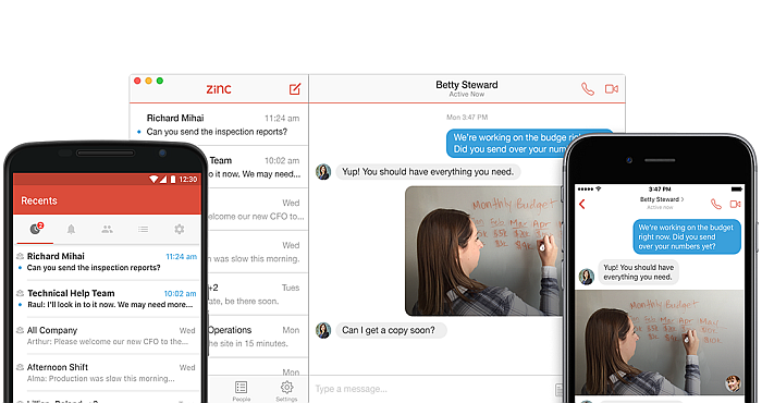 Zinc Messenger Is A Popular Messaging App For Field