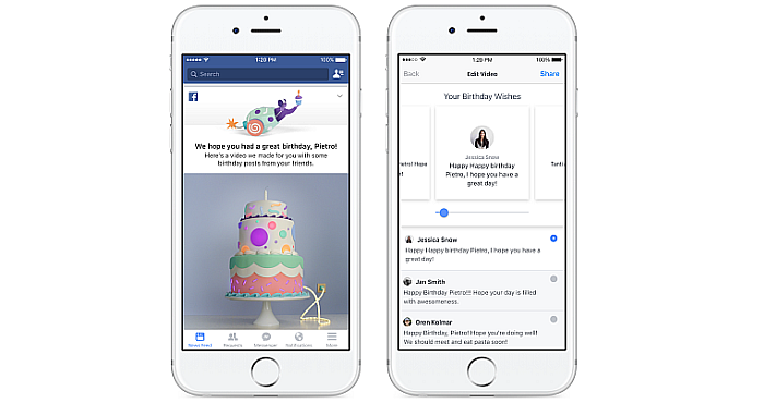Facebook Messenger To Suggest Birthday Wishes