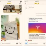 "Instagram updated ""Direct Messages"" to support different Photo orientations and Links"