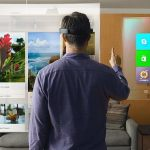 Microsoft introduce a portable holographic display that can fit into your glasses