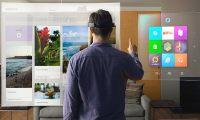 Microsoft portable holographic glasses