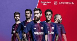 viber barcelona official account
