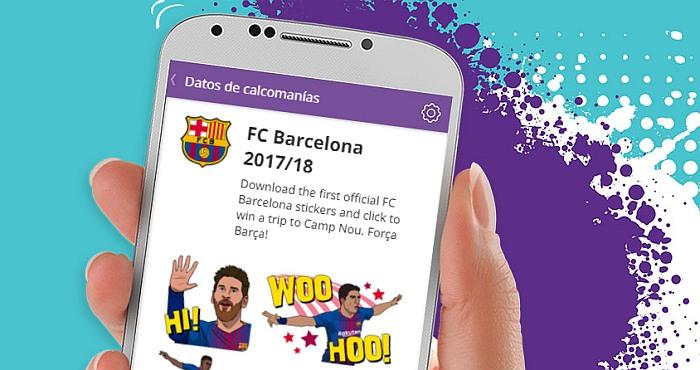 FC Barcelona launches a Viber Public Account viber barcelona 2