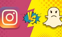 Instagram-Snapchat-app